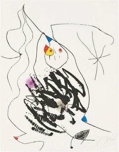 Joan Miró, 'Journal d'un graveur (Diary of an Engraver): one plate', 1975