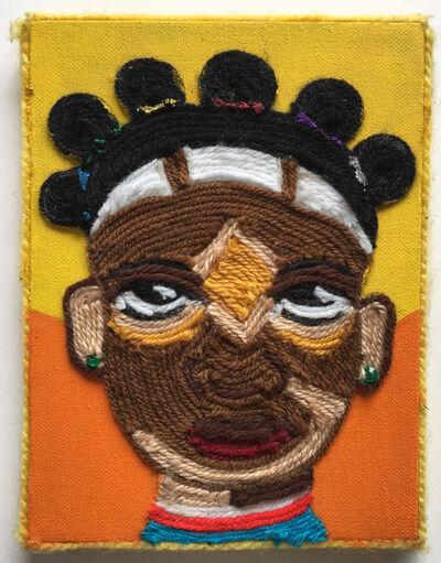 Nzuji De Magalhaes, 'African Girl', 2004