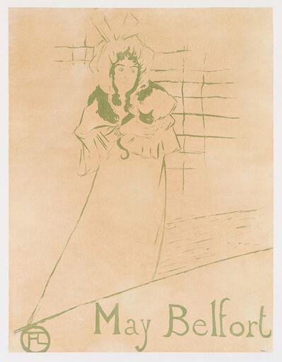 Henri de Toulouse-Lautrec, 'May Belfort (D.354; W. P14; Adr. 126)', 1895