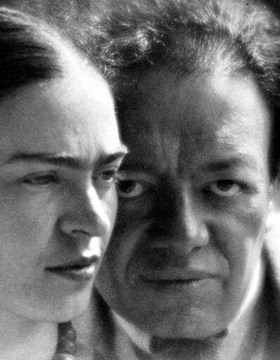 Martin Munkácsi, 'Frida Kahlo and Diego Rivera, Mexico', 1934