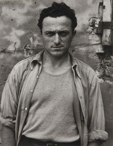 Paul Strand, 'Portrait of a Young Man, Luzzara, Italy', 1953