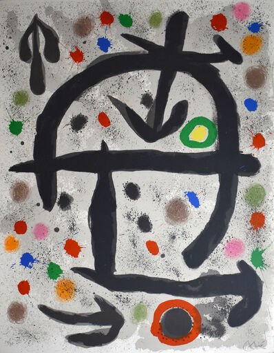Joan Miró, 'Composition V, from: The Perseids | Les pérseides', 1970
