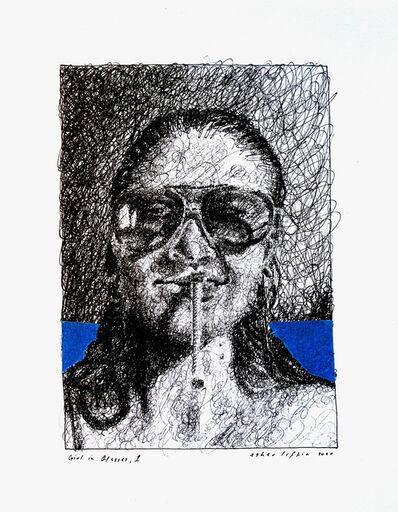Asher Liftin, 'Girl in Glasses I', 2020