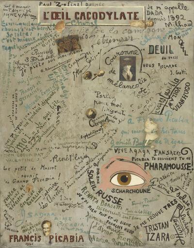 Francis Picabia, 'L'Œil cacodylate (The Cacodylic Eye)', 1921