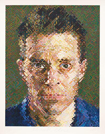 Chuck Close, 'James', 2004