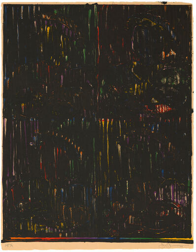 Jasper Johns, 'After Holbein', 1994