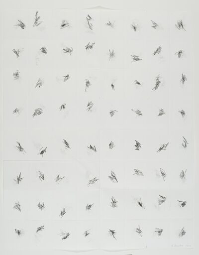 William Anastasi, 'Without Title (Pocket Drawing, 9.9.12)', 2012