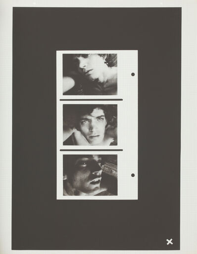 Robert Mapplethorpe, 'Self-Portrait (Triptych)', 1972