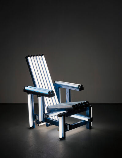 Iván Navarro, 'Blue Electric Chair', 2004