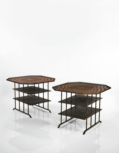 André Dubreuil, 'Pair of Octogonal Side Tables', circa 2003-2006