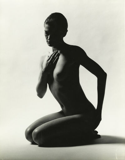 Ormond Gigli, 'Nude, Side View', 1988