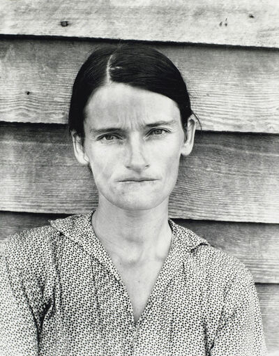 Walker Evans, 'Allie Mae Burroughs, Hale County, Alabama', 1936