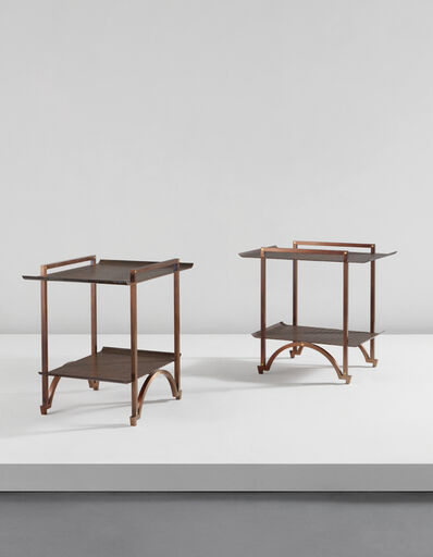 André Dubreuil, 'Pair of tables', circa 2009