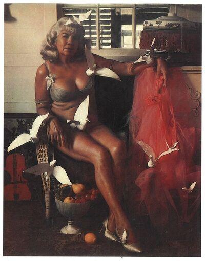 Marie Cosindas, 'Princess with Doves 2, KeyWest', 1997