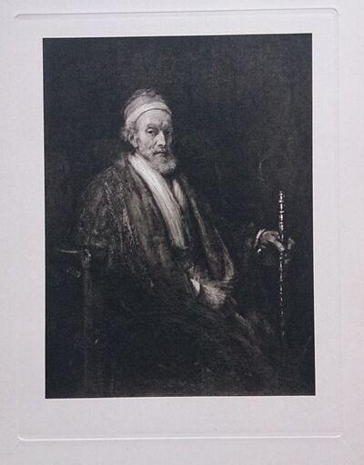 Rembrandt van Rijn, 'Portrait d'homme âgé', ca. 1910