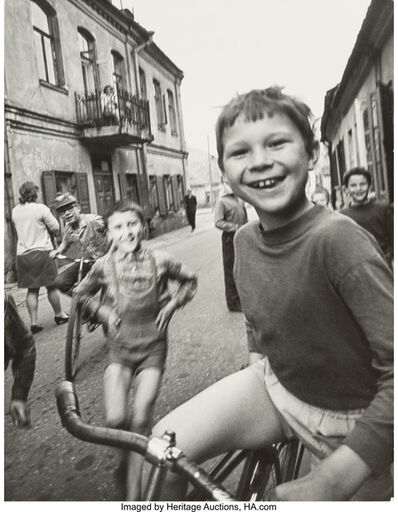 Antanas Sutkus, 'A Group of Four Photographs from the series Kids in Vilnius', 1965-1978