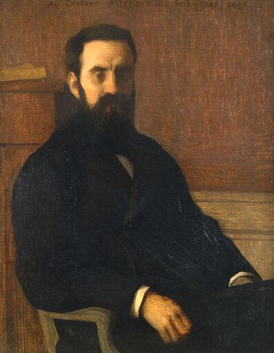 Edmond Aman-Jean, 'Au Docteur Michaux', 1895