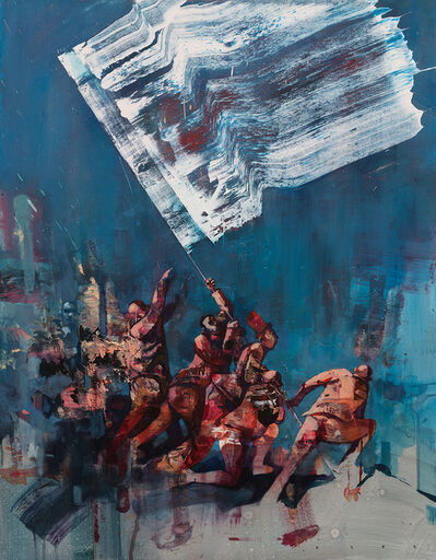Sepe, 'The White Flag (Edition)', 2018