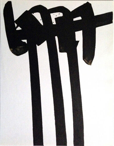 Pierre Soulages, 'Untitled (from XXe Siecle)', 1970