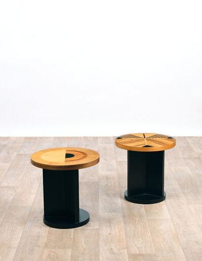 Ettore Sottsass, 'De la série «Ettore Sottsass, 28 progetti per la tarsie di AndreaFedeli» Guéridon', 1999