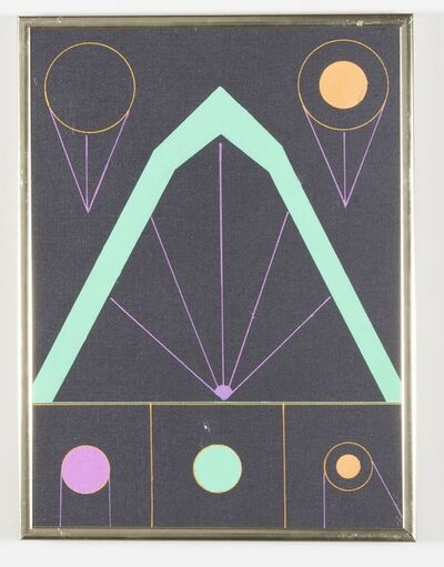 Kenneth Licht, 'Geometric Painting', 1960-1979