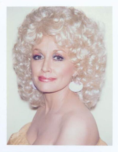 Andy Warhol, 'Andy Warhol, Polaroid Photograph of Dolly Parton, 1985', 1985