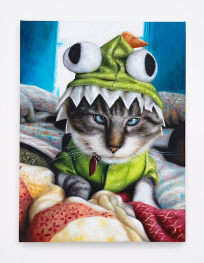 Daniel Handal, 'Frog Kitty (Blue Lynx Point)', 2015