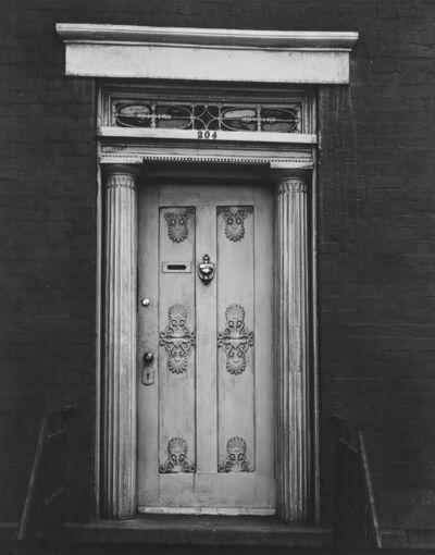 Walker Evans, 'Doorway, 204 West 13th Street, New York City'