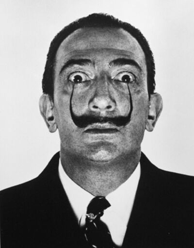 Philippe Halsman, 'Dali's Mustache', 1953