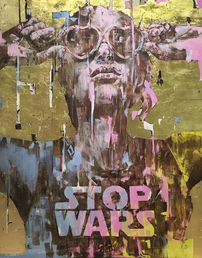 Marco Grassi/Grama, 'Super Golden - Stop Wars', 2017