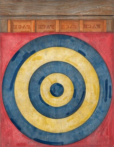 Jasper Johns, 'Target with Four Faces', 1979
