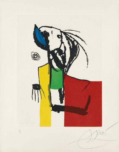 Joan Miró, 'Chanteur des rues IV', 1981