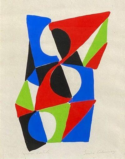 Sonia Delaunay, 'Les illuminations ', 1973