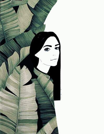 Ramona Russu, 'The girl with black hair/ Maquis 3', 2019