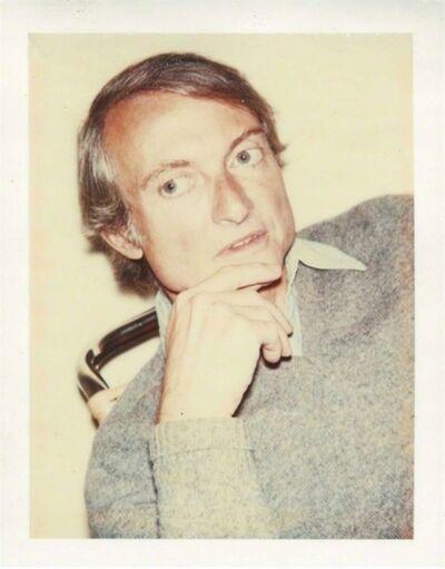 Andy Warhol, 'Portrait of Roy Lichtenstein (Authenticated)', 1975