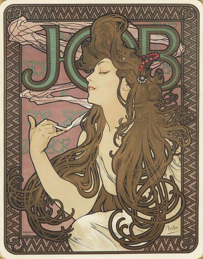 Alphonse Mucha, 'Job.', 1896