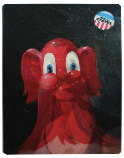 George Condo, 'Mental States lenticular', 2012