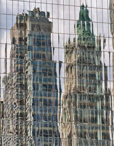 Andrew Prokos, 'Reflections on a Glass Facade, Lower Manhattan', 2020