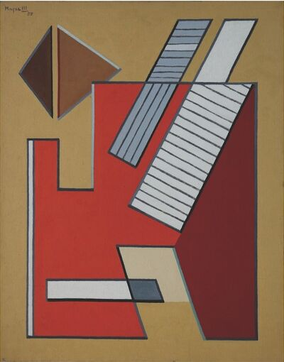 Alberto Magnelli, 'Images Fermées n°2', 1955