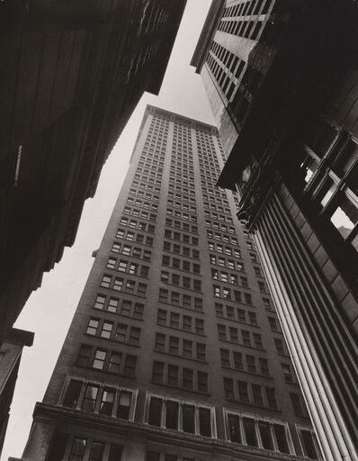 Berenice Abbott, 'Canyon, NYC', 1938