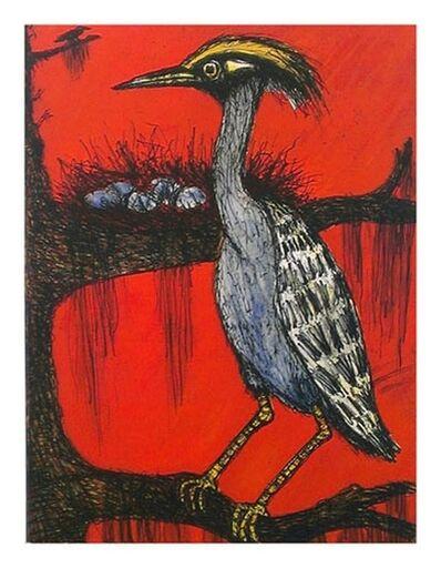 Frank X. Tolbert, 'Yellow-crowned Heron', 2014