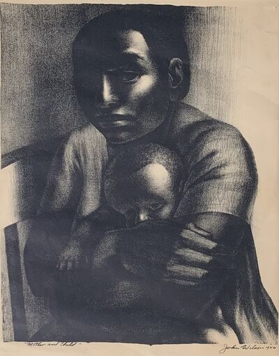 John Woodrow Wilson, 'Mother and Child', 1956