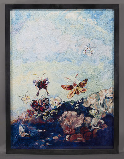 Vik Muniz, 'Butterflies, after Odilon Redon', 2006