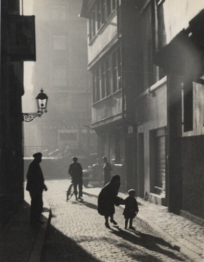 Elisabeth Hase, 'Summer alte Gasse in Frankfurt (Summer, old alley, Frankfurt)', 1929