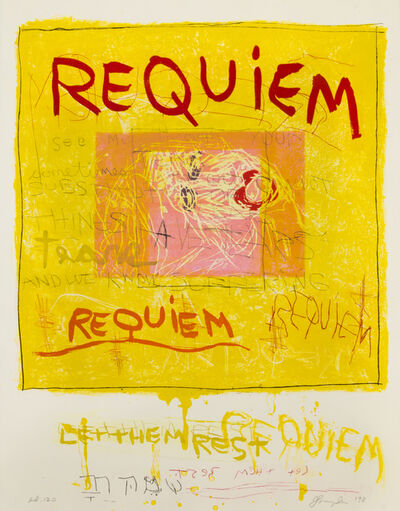 Joan Snyder, 'Requiem', 1998