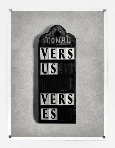 Fiona Banner, 'Vs.', 2013