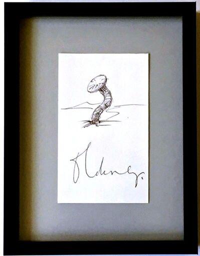 Claes Oldenburg, 'Nail in Landscape', ca. 1976