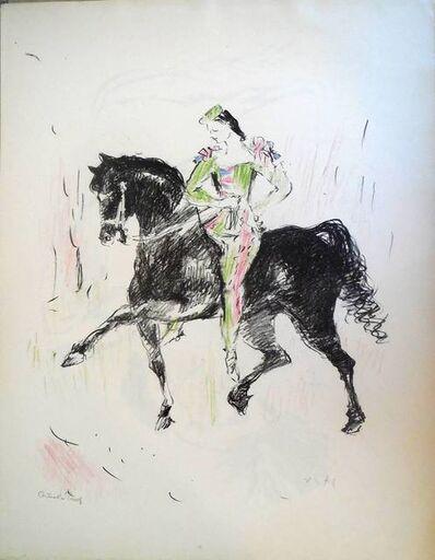Marcel Vertes, 'Circus Equestrienne Harlequin', 1940-1949