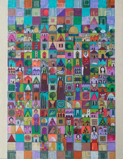 Nabil Anani, 'City of Peace #1', 2018