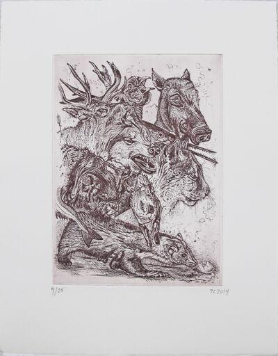 Troels Carlsen, 'De Største Kræfter (Violet)', 2014